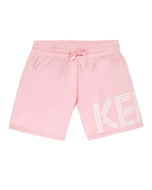 Kenzo Shorts GIRL'S LOGO FLEECE SHORTS