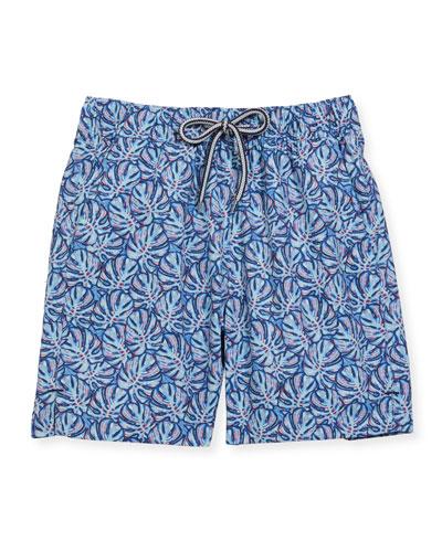 Love Needs Mens Swim Trunks Light Blue Jellyfishes Pattern Navy Drawstring Boardshorts