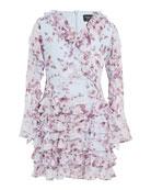 Bardot Junior Girl's Lianna Floral-Print Frill Dress, Size