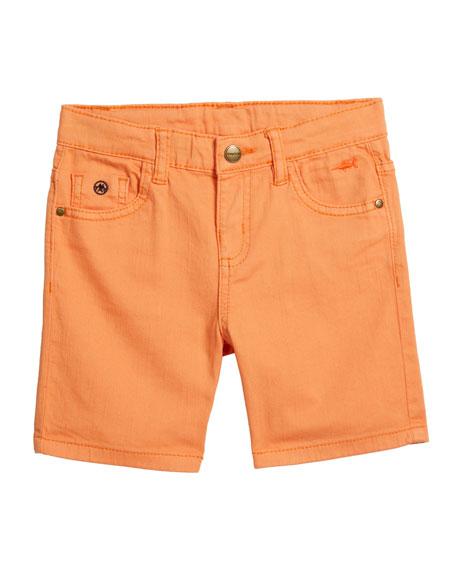 Mayoral Boy's Five-Pocket Twill Shorts, Size 4-7
