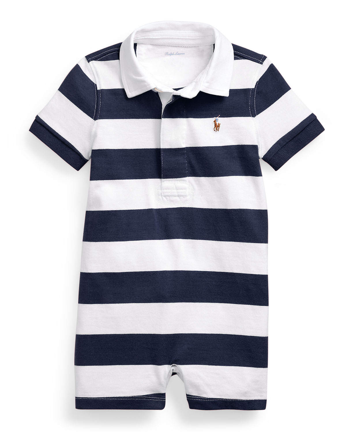 Ralph Lauren Childrenswear Jumpsuits RUGBY JERSEY POLO PLAYSUIT