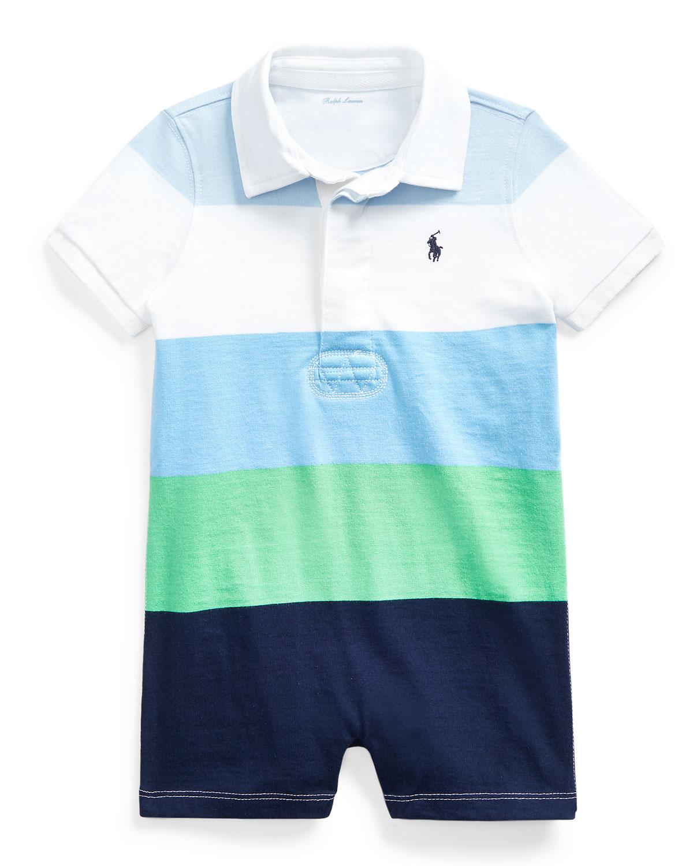 Ralph Lauren Childrenswear Shorts RUGBY JERSEY COLORBLOCK SHORTALL