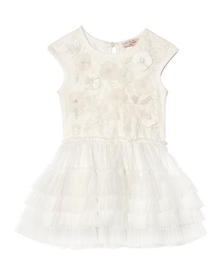 Tutu Du Monde Girl's Strawberry Fields Tutu Dress, Size 6-24 Months