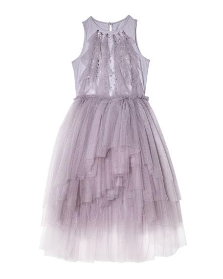 Tutu Du Monde Girl's Fly Away Sequin Tulle Dress, Size 2-11