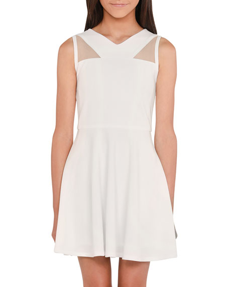 Sally Miller Girl's The Jill Stretch Crepe Dress, Size S-XL