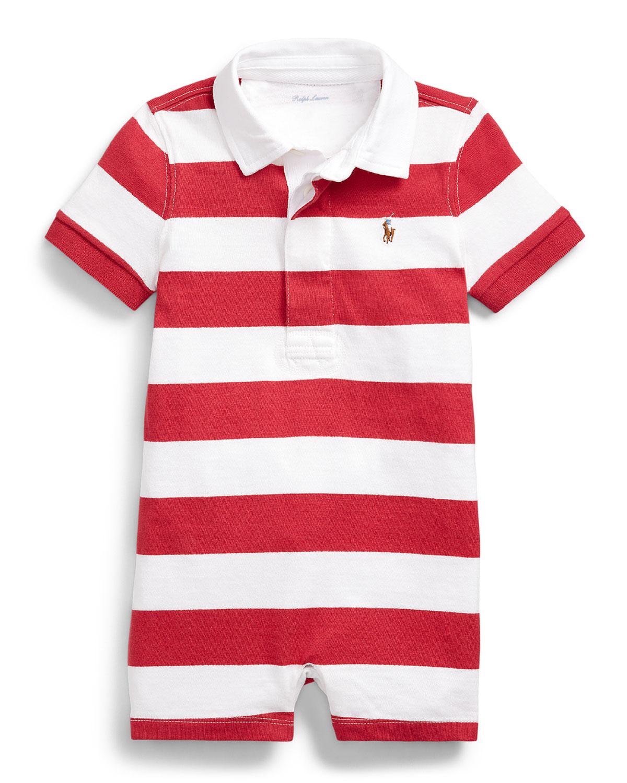 Ralph Lauren Childrenswear Shorts RUGBY JERSEY STRIPE SHORTALL