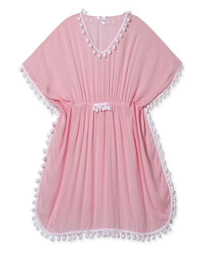 Stella Cove Tie-Dye Heart Poncho Cover-Up