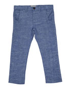 Me & Henry Boy's Twill Trousers w/ Children's