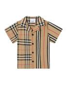 Burberry Boy's Jay Vintage Check & Icon Stripe