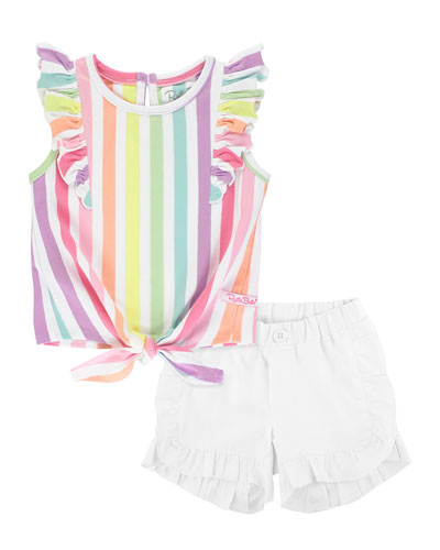 Personalized Custom The Tool Man Cotton Toddler Long Sleeve Ruffle Shirt Top