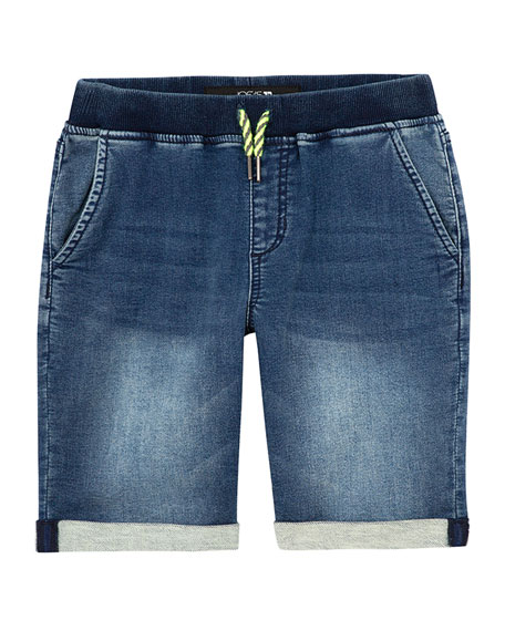 Joe's Jeans Boy's Knit Denim Shorts, Size S-XL