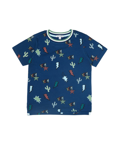 art & eden Boy's Charlie Graphic T-Shirt, Size 2-10