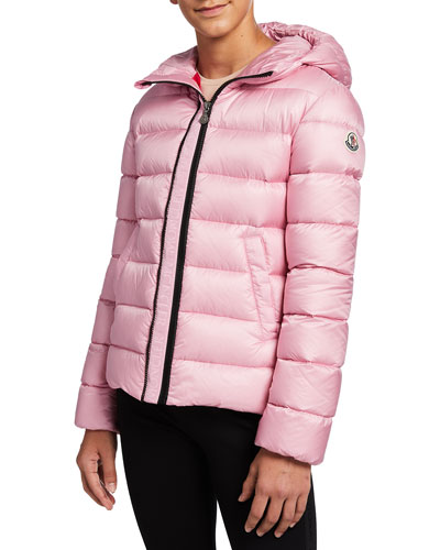 Alithia Quilted Hooded Puffer Jacket, Size 4-6