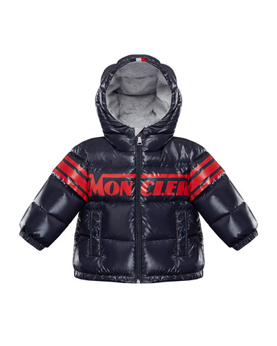 Nasse Quilted Puffer Hooded Jacket, Size 12M-3