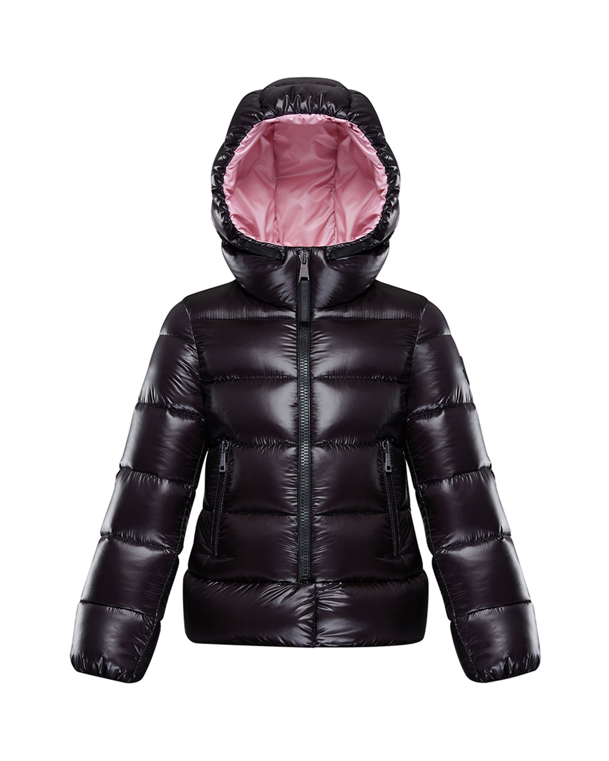 Moncler SUNDAY LAQUE HOODED QUILTED JACKET