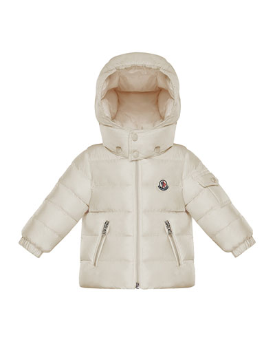 Jules Quilted Hooded Jacket, Size 12M-3