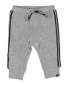 Molo Boy's Stan Side-Stripe Sweatpants, Size 6-24 Months