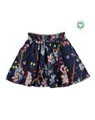 Molo Girl's Barbera Petal Printed Skirt, Size 3T-14
