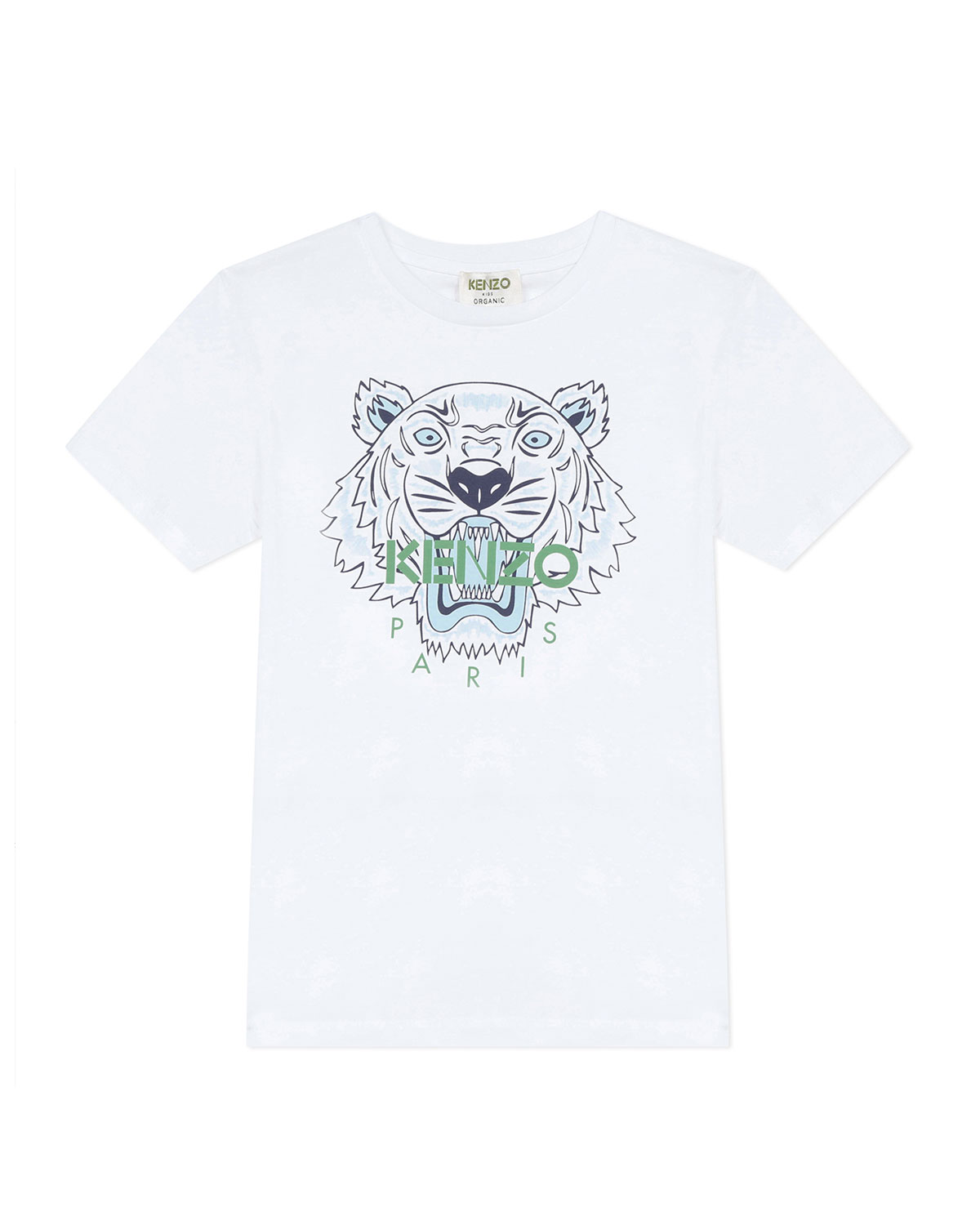 Kenzo BOY'S CLASSIC LOGO T-SHIRT WITH TIGER ICON