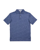 Peter Millar Boy's Fillmore Cars Printed Performance Polo