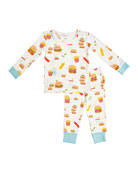 Angel Dear Kid's Burger Joint Lounge Wear Set,
