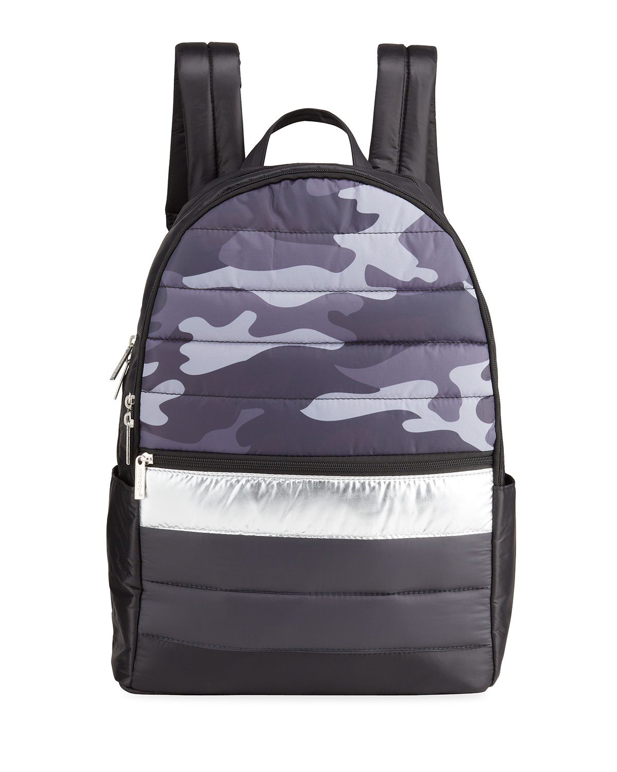 Boy's Camo-Print Quilted Puffer Backpack