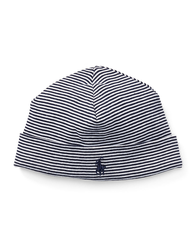 1x1 Rib Yarn-Dye Cotton Baby Hat