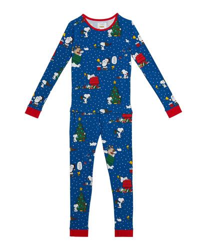 Minijammies 6306 Boys Austin Burgundy Red Check Cotton Pajama Set
