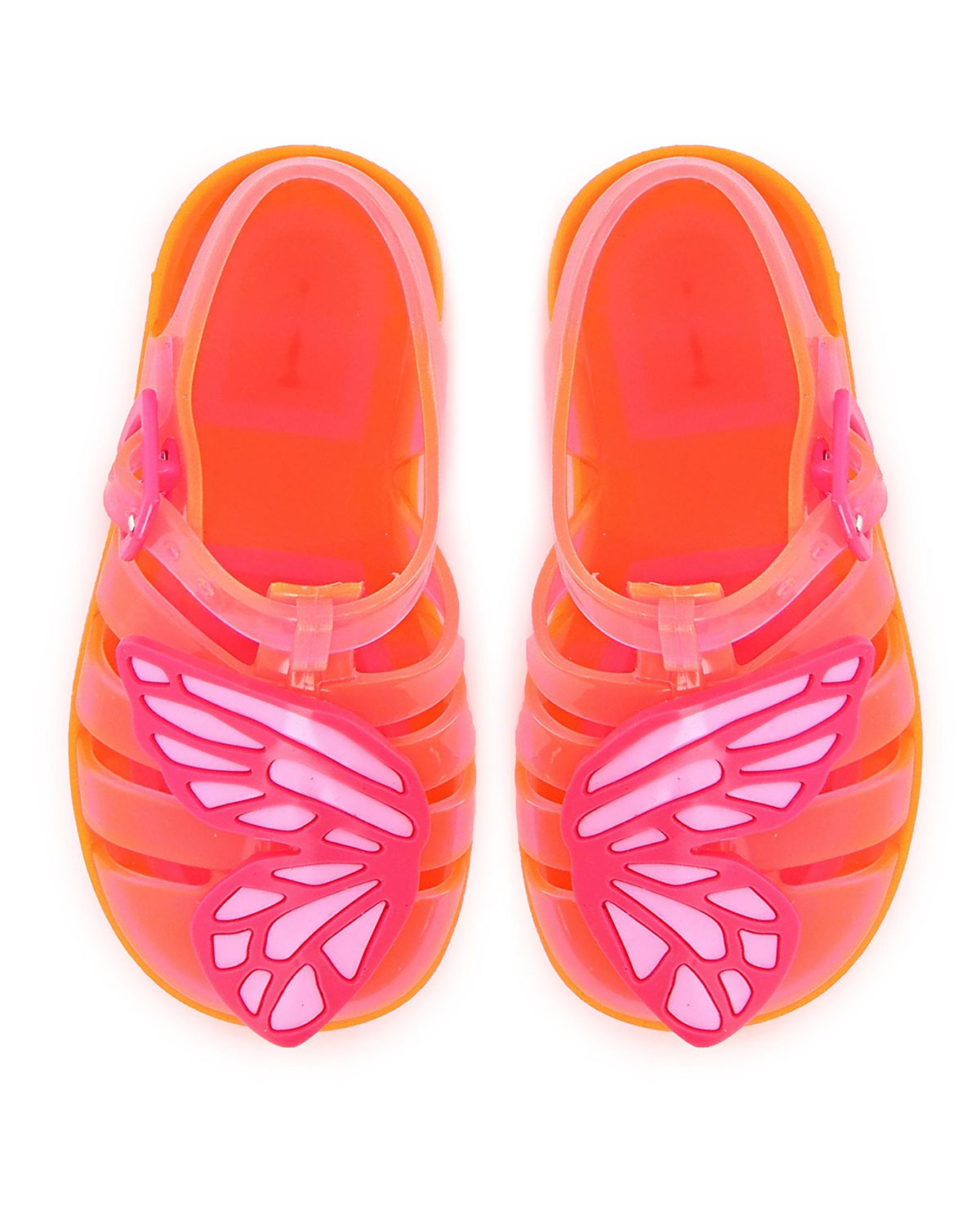 Sophia Webster BUTTERFLY JELLY CAGED SANDALS, BABY/TODDLERS