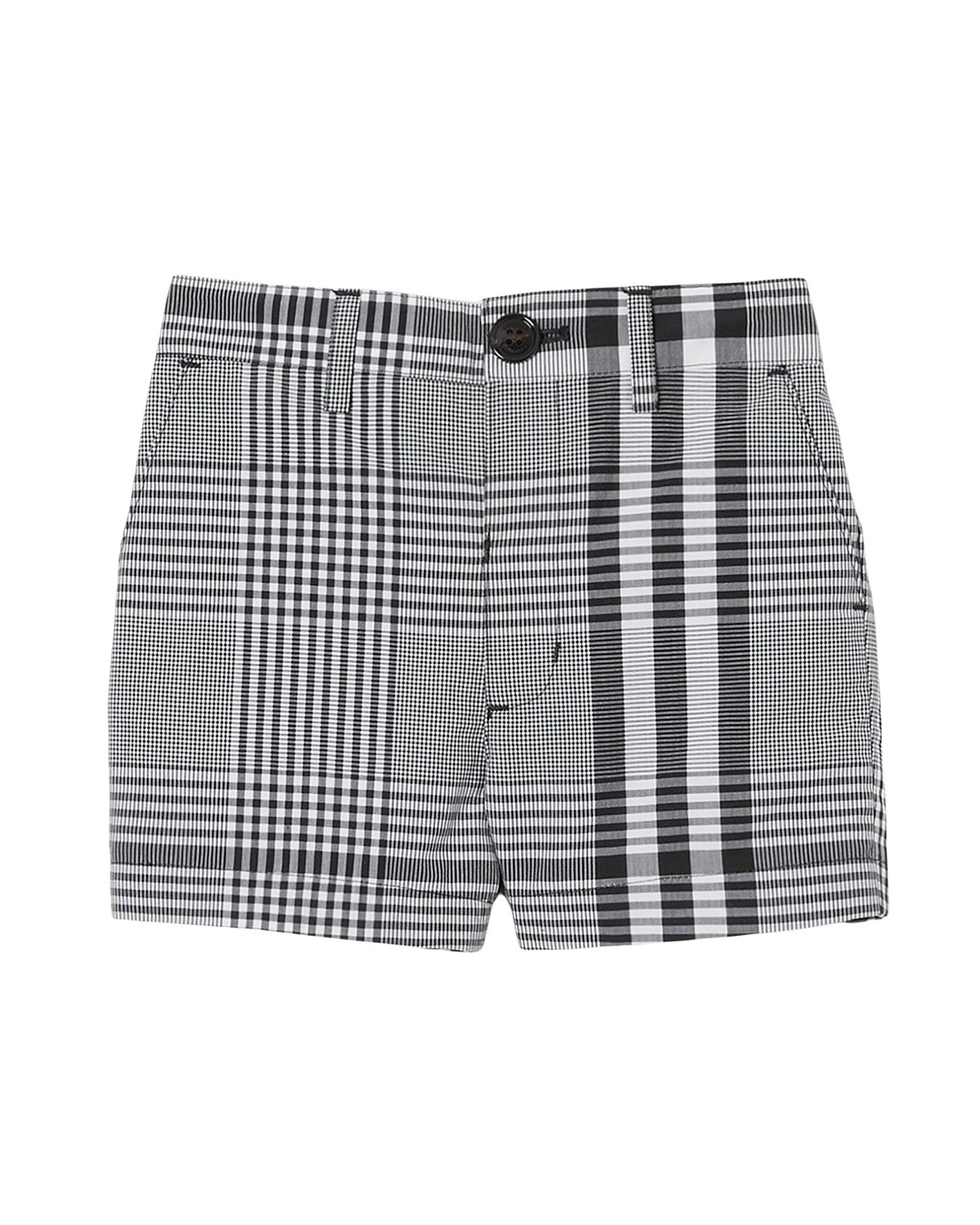 Burberry BOY'S MARTWELL CHECK SHORTS