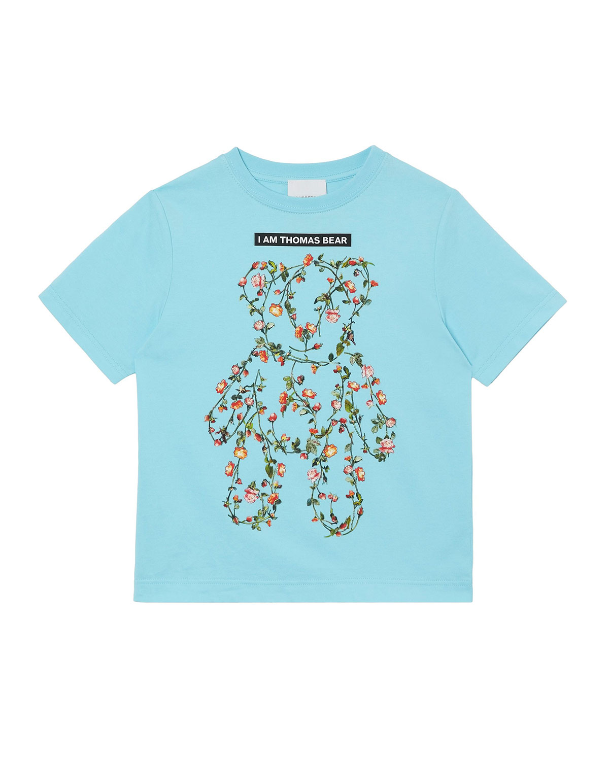 Burberry GIRL'S FLORAL BEAR GRAPHIC TEE