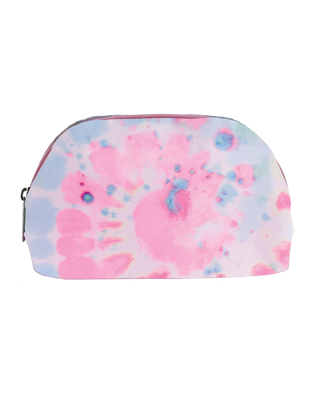 Girl's Swirl Tie-Dye Oval Cosmetic Bag