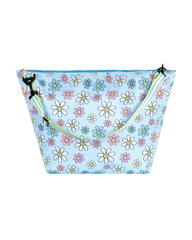 Girl's Daisies Printed Nylon Weekender Bag