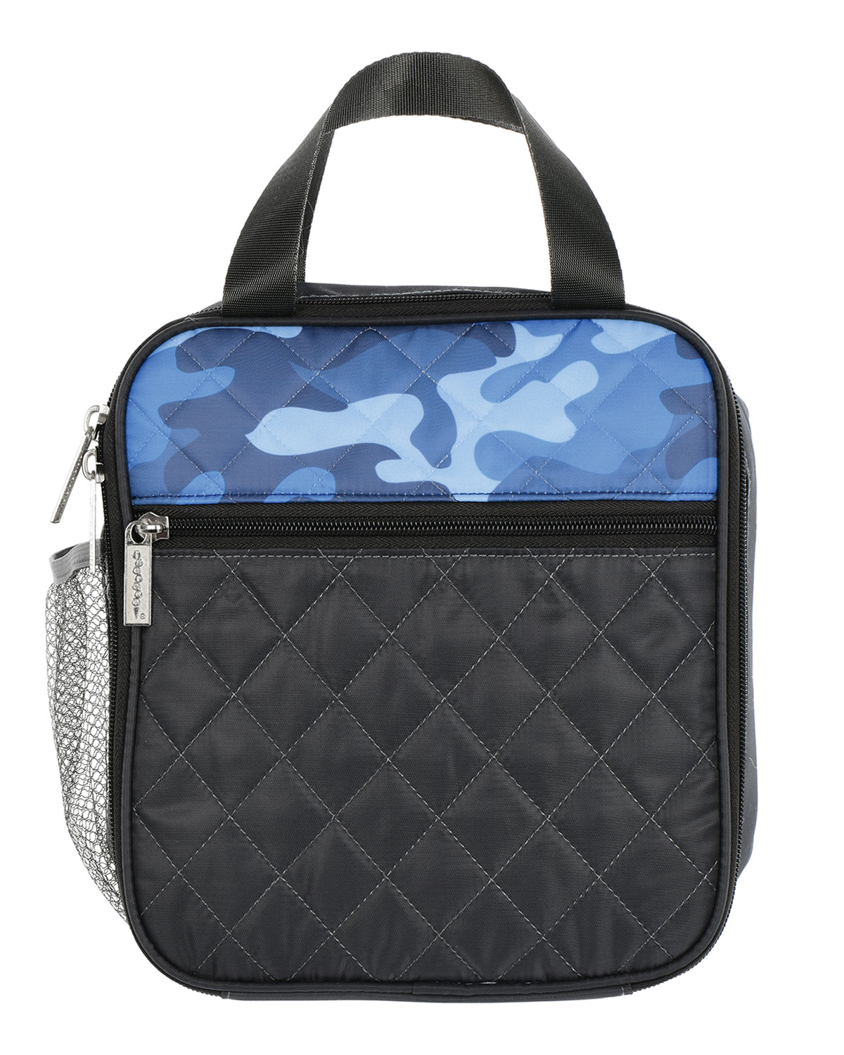 Boy's Camo-Print Faux Leather Lunch Tote