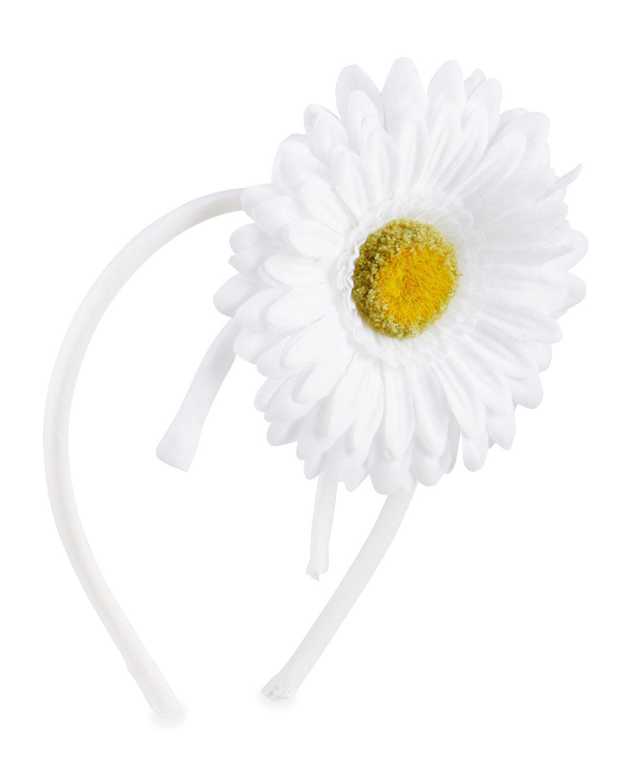 Girl's Daisy Applique Headband