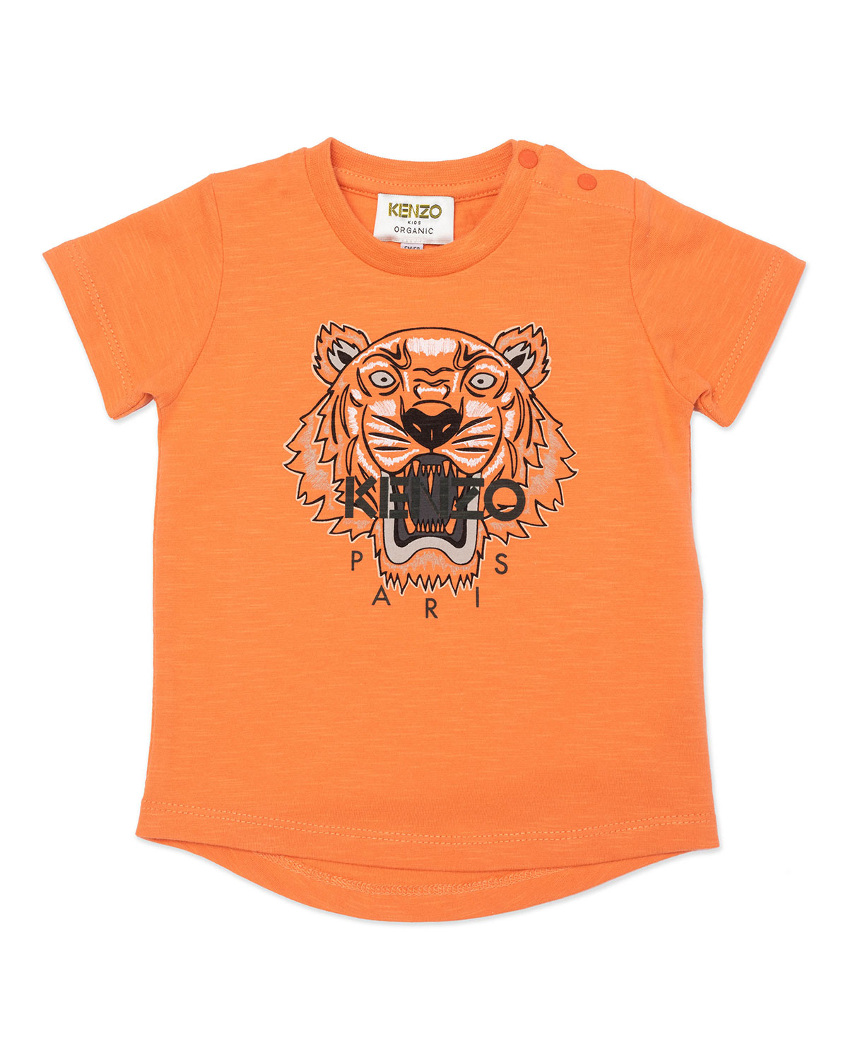 Boy's Classic Tiger Icon Graphic T-Shirt