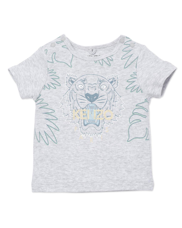 Boy's Palm Tree Classic Tiger Icon Graphic T-Shirt