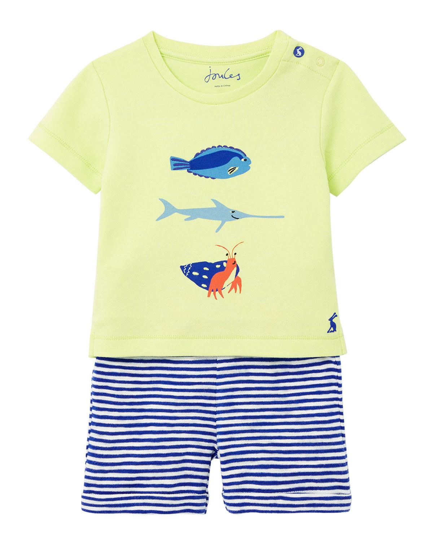 Boy's Barnacle Fish Graphic T-Shirt