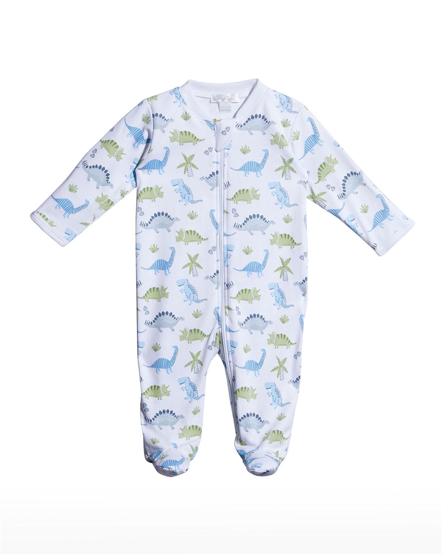 Boy's Dino Dyanmos Footie Pajamas