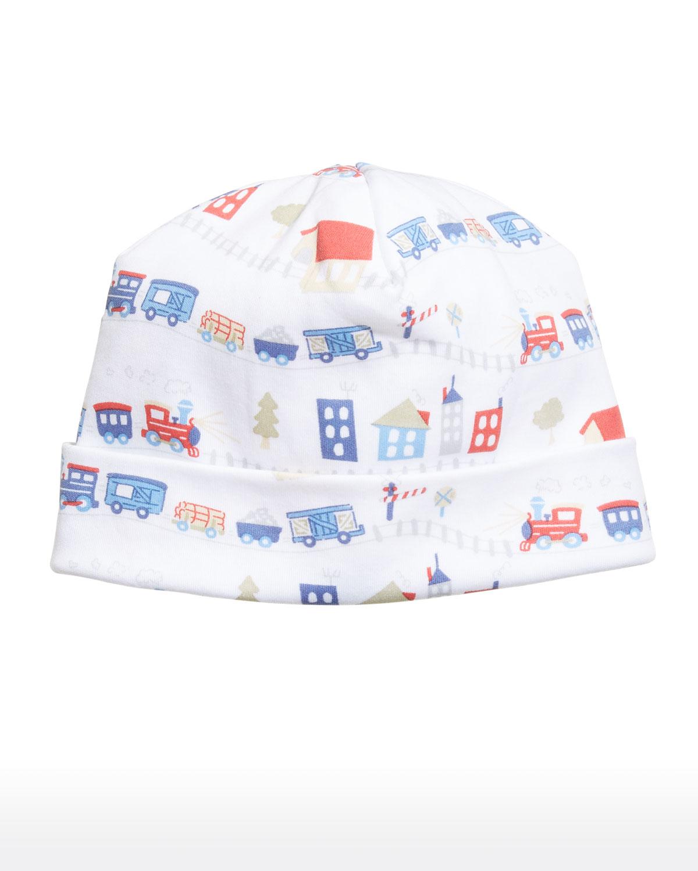 Railway Train Pima Cotton Baby Hat