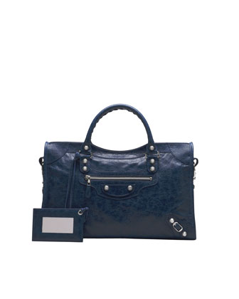 Giant 12 Nickel City Bag, Bleu Mineral