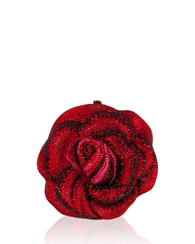 New Rose American Beauty Crystal Minaudiere