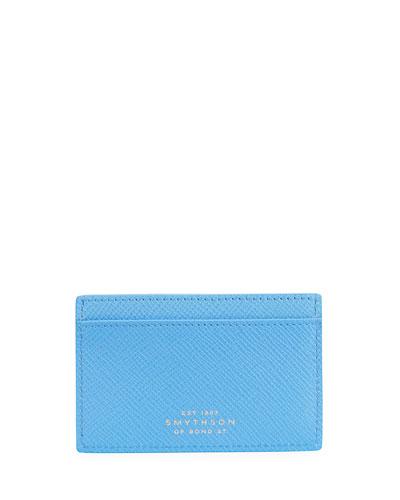 Panama 771 Leather Card Case, Blue Nile