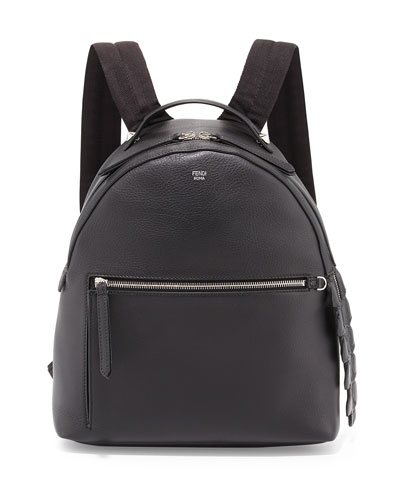 Leather Large Dome Backpack