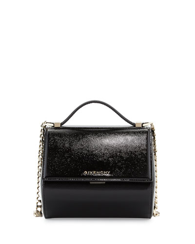 Pandora Box Mini Crossbody Bag, Black