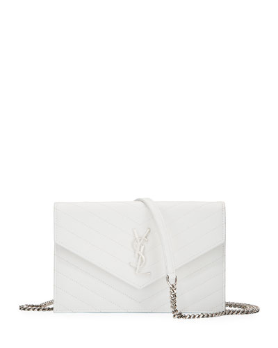 Monogram Matelasse Wallet on a Chain Bag