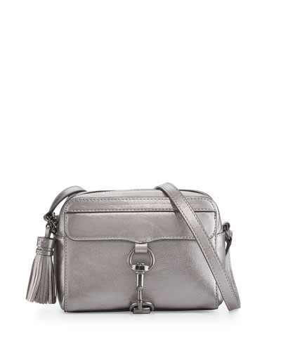MAB Metallic Leather Camera Bag