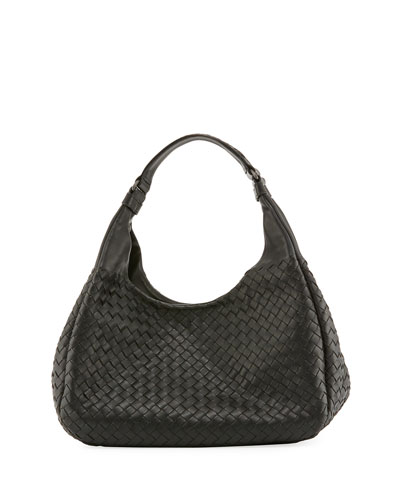 Veneta Medium Intrecciato Ball Hobo Bag