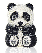 Ling Panda Pillbox, Black/White