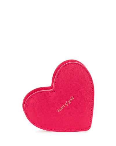 be mine heart coin purse, red/multi